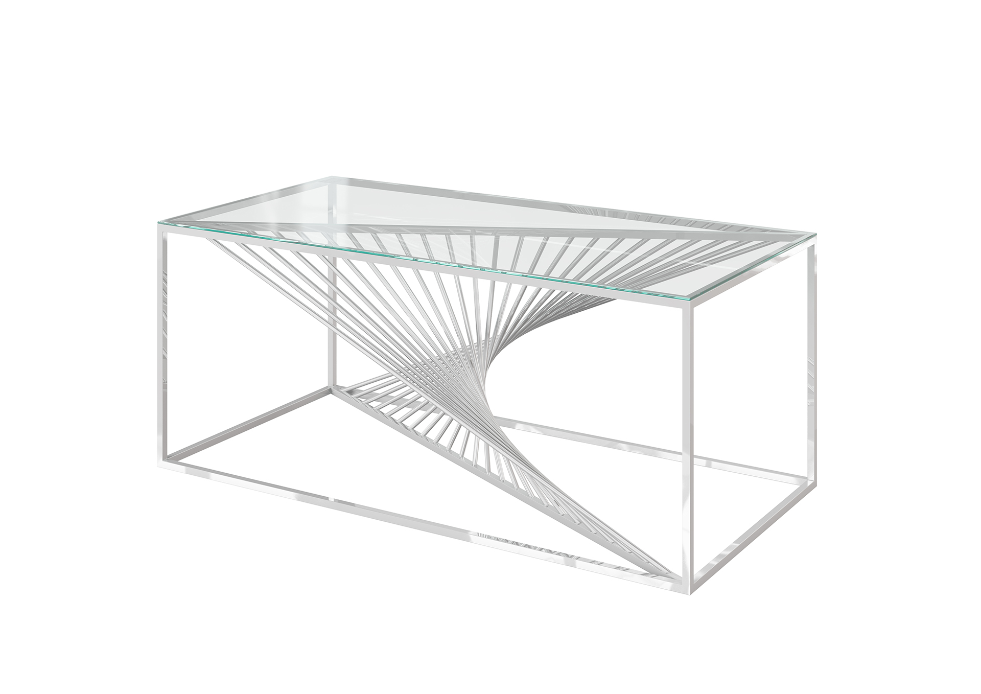 Abrstact Coffee Table Clear Cfc Interiors